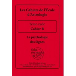 Cahier B : Psychologie des...