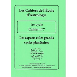 Cycle 1 - Cahier 7 : Les...